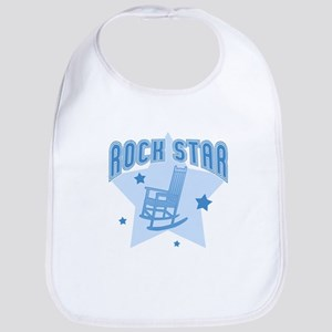 Rock Star [blue] Bib